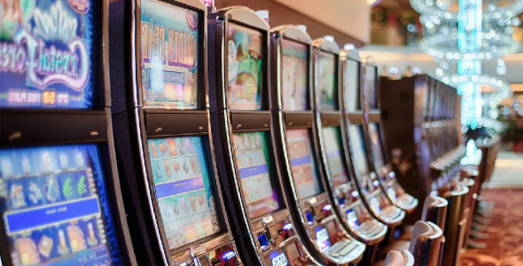 Do cell phones affect slot machines?