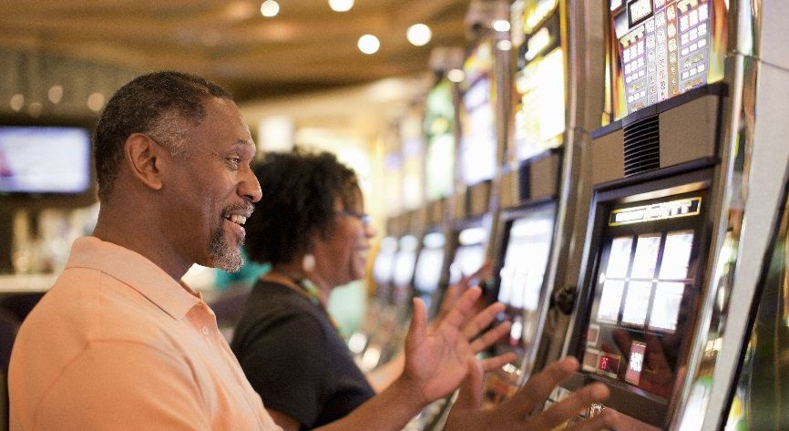 cell phones affect slot machines